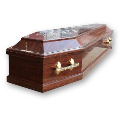 Гроб «Плёнка», резной